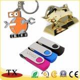 USB 섬광 드라이브와 USB 지팡이를 위한 금속과 플라스틱 USB