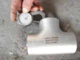 Te de la autógena de tope de la instalación de tuberías de acero inoxidable de Werkstoff No. 1.4301 304