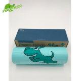 1box/300 Cuenta Comercio al por mayor 100% biodegradables bolsas para residuos de perros