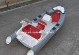 Liya 6,6 m Rib bateau rigide Hypalon Inflatable Boats Bateau de pêche