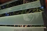 Glace durcie d'auvent polie par bord clair