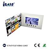Folleto video del LCD de la impresora de Digitaces modificada para requisitos particulares 6.0 '' para Product y publicidad de Company