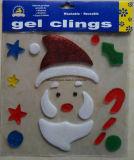Стикеры Xm-C-1060 Christmasdecoration геля студня окна яркия блеска рождества
