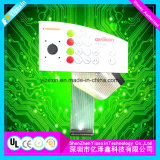 Flexible Membranschalter-Tastatur-grafisches Testblatt für Gerät