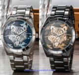 Orologi su ordinazione di modo della vigilanza del quarzo svizzero di marchio per le coppie (WY-17017E)