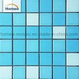 Populäre blaue Swimmingpool-Mosaik-Fliese des Keramikziegel-48X48