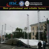 Aluminium arquéesLes Truss Roof for Media