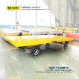 Acoplado orientable motorizado en el transporte de la planta