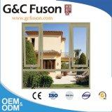 Hervorragende Doppelverglasung-weiße Farben-Aluminiumprofil-Markisen-Fenster