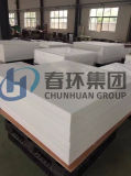 Chunhuan는 PTFE/Teflon 장 또는 격판덮개를 주문을 받아서 만들었다