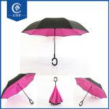 Обратный зонтика двойного слоя Fanny вверх ногами или перевернутый зонтик