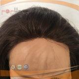 Основание шнурка полностью парик крышки человеческих волос регулируемый (PPG-l-0808)