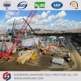 Sinoacmeの高層プレハブの鉄骨構造の発電所の建物