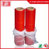 Красная пленка простирания для машины обруча паллета или ручной пластмассы LLDPE девственницы