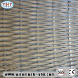 O engranzamento de fio tecido do aço inoxidável usado para decora