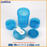 Пользовательский цвет пластика бутылка воды