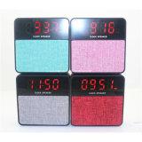 Диктор будильника диктора Bluetooth ткани беспроволочный с индикацией времени