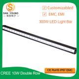 42 barre 4X4 d'éclairage LED de CREE de pouce 260W outre de la route lourde, militaires de Sut, agriculture, soldat de marine, guide optique de extraction