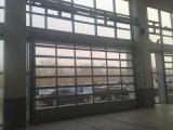 Автоматическая See-Through изолированный стеклянной панели двери гаража цены