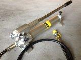 Liga de alumínio da bomba manual hidráulica com manômetro (CP-700AG)