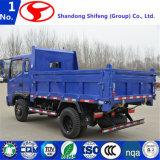 強力なディーゼル機関を搭載するダンプトラック