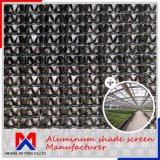 Cortina que clasifica la red de aluminio ignífuga de la cortina del 55%~90%