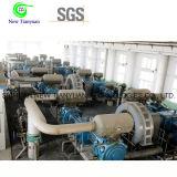 Compressor de gás industrial do hidrogênio elevado do nitrogênio da pressão da descarga