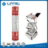 Exposição Twister Tower Showcase espiral do visor