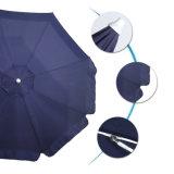 De Blauwe Munt van de Paraplu van het strand/Bidirectionele Schuine stand Pool/UVDeklaag/Zak