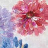 Handgemachtes Qualitäts-Ölgemälde-bunte Blumen steuern Dekoration automatisch an
