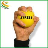Ecoの友好的なロゴは丸型PUの圧力の球を印刷した