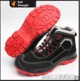 PU/TPU de gamuza Suela de Zapato de seguridad de cuero con puntera compuesto (SN5433)