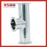 Saneamiento higiénico Tc de acero inoxidable de sujeción triple reductor concéntricos