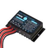 Mini regulador 10A-12V-St solar impermeável com controle da luz + de tempo