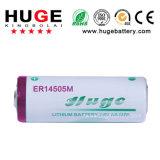 3.6V de Batterij ER14505M van het Type Li-Socl2 van Energie van aa 2200mAh