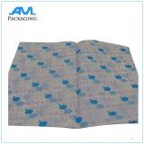Papel de tejido impreso de la venta al por mayor del papel de seda del papel de embalaje de la insignia de Customizd