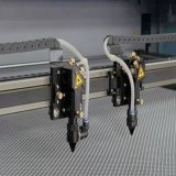 Approved гравировальный станок лазера для материалов тканья (JM-1810T)