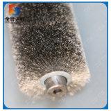 ステンレス鋼ワイヤー螺線形の回転式ブラシ