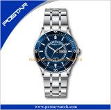 Montre lumineuse de montre d'acier inoxydable de la mode 316L de qualité