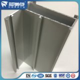 Helles Aluminiumprofil der ISO-6063 Elektrophorese-T5 für Fenster-Tür