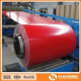 Toiture en aluminium à revêtement de couleur (feuille)