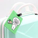 Gute Qualitätsbilden weiche Belüftung-Gepäck-Marke Ihr eigenes Firmenzeichen