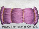 Rete da pesca di nylon viola dell'attrezzatura di pesca del Multifilament
