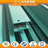 Revêtement poudré 6063 Aluminium extrudé en alliage aluminium profile