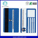 Carte de débit de piste magnétique de PVC de qualité supérieur
