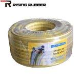 La fibra del tubo de PVC de intensidad de la manguera de jardín