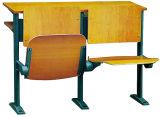 나무로 되는 강의 룸 대학 책상 및 의자를 접히는 대학 교실 책상과 의자 세트