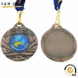China-Hersteller-preiswerte kundenspezifische Betrieb-Preis-Metallsport Trophie Medaille