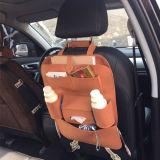 Frente del bolso del almacenaje del asiento de coche del paño del fieltro u organizador auto del asiento trasero
