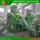 verwendete bester Preis 0.8-1.5t/H,/Schrott,/der überschüssige Gummireifen, der Maschine für die Krume-Herstellung aufbereitet